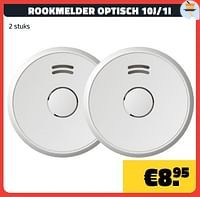 Rookmelder optisch 10j-1i-Huismerk - Bouwcenter Frans Vlaeminck