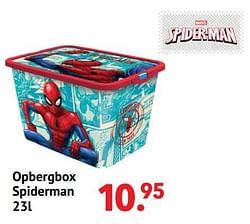 Opbergbox spiderman