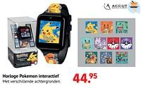 Horloge pokemon interactief-Pokemon