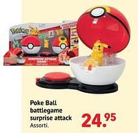 Poke ball battlegame surprise attack-Pokemon