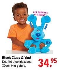 Blue's clues + you!-Huismerk - Multi Bazar