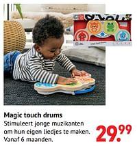 Magic touch drums-Hape