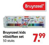 Bruynzeel kids viltstiften set-Bruynzeel