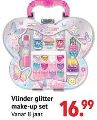 Vlinder glitter make-up set-Huismerk - Multi Bazar