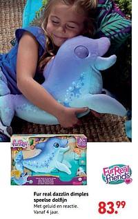 Fur real dazzlin dimples speelse dolfijn-FurReal Friends