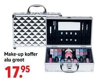 Make-up koffer alu groot-Huismerk - Multi Bazar