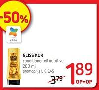 Gliss kur conditioner oil nutritive-Schwarzkopf