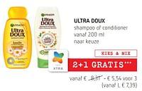 Ultra doux shampoo of conditioner-Garnier