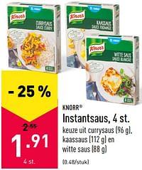 Instantsaus-Knorr
