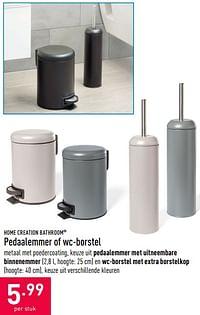 Pedaalemmer of wc-borstel-Home Creation Bathroom