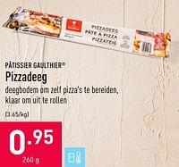 Pizzadeeg-Patissier Gaulthier