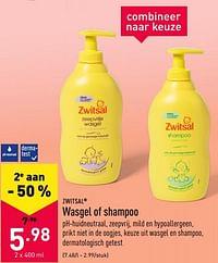 Wasgel of shampoo-Zwitsal