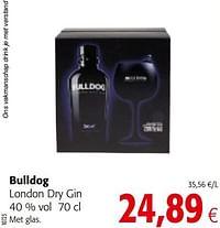 Bulldog london dry gin-Bulldog