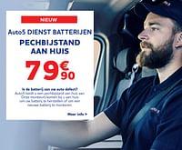 Auto5 dienst batterijen pechbijstand aan huis-Huismerk - Auto 5