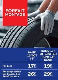 Band 10 tot 16`` per band-Huismerk - Auto 5