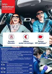 Mijnonderhoud constructeur-Huismerk - Auto 5