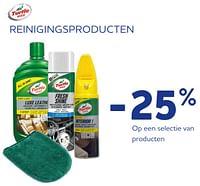 Reinigingsproducten -25%-Turtle wax