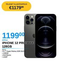 Apple iphone 12 pro max 128gb-Apple