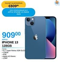 Apple iphone 13 128gb-Apple