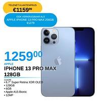 Apple iphone 13 pro max 128gb-Apple