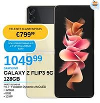 Samsung galaxy z flip3 5g 128gb sm-f711bzkaeub-Samsung