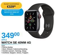 Apple watch se 40mm 4g-Apple