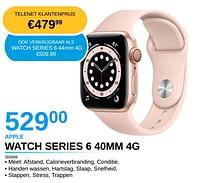 Apple watch series 6 40mm 4g-Apple