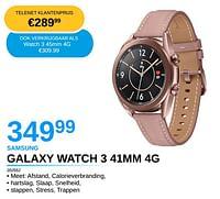 Samsung galaxy watch 3 41mm 4g-Samsung