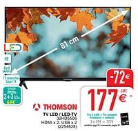 Thomson tv led - led-tv 32hd5506-Thomson