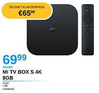 Xiaomi mi tv box s 4k 8gb-Xiaomi