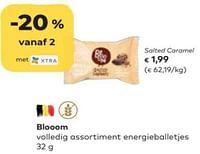 Blooom salted caramel-Huismerk - Bioplanet