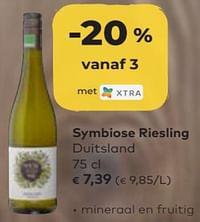 Symbiose riesling duitsland-Witte wijnen