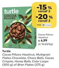 Turtle cocoa pillows hazelnut-Turtle