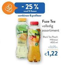 Fuze tea black tea peach hibiscus-FuzeTea