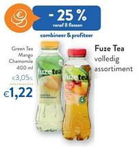 Fuze tea green tea mango chamomile-FuzeTea
