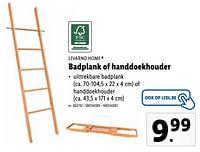 Badplank of handdoekhouder-Livarno
