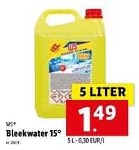 Bleekwater 15°-W5