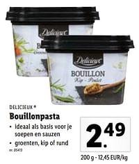 Bouillonpasta-Delicieux