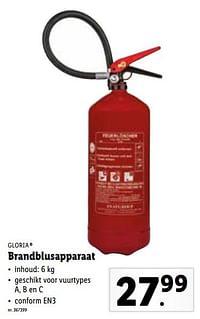 Brandblusapparaat-Gloria