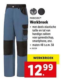 Werkbroek-Parkside