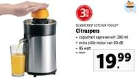Silvercrest kitchen tools citruspers-SilverCrest