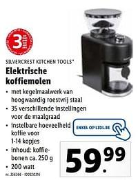 Silvercrest kitchen tools elektrische koffiemolen-SilverCrest
