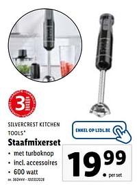 silvercrest kitchen tools staafmixerset-SilverCrest