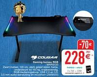 Gaming bureau rgb mars120-Speed Cougar