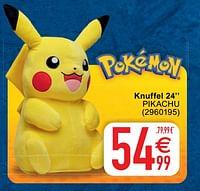 Knuffel 24 pikachu-Pokemon