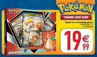 Speel- en verzamelkaarten coffret v-Pokemon