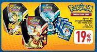 Speel- en verzamelkaarten tin pokébox-Pokemon