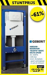 Inbouwreservoir duofix basic delta up100-Geberit