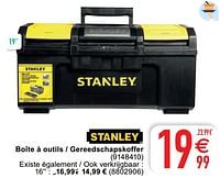 Boîte à outils - gereedschapskoffer-Stanley