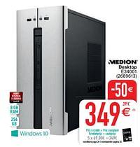 Medion desktop e34001-Medion